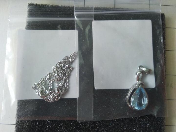 类似爱情 3.9克拉紫水晶项链女925银吊坠 锁骨链 送女友礼物 晒单图