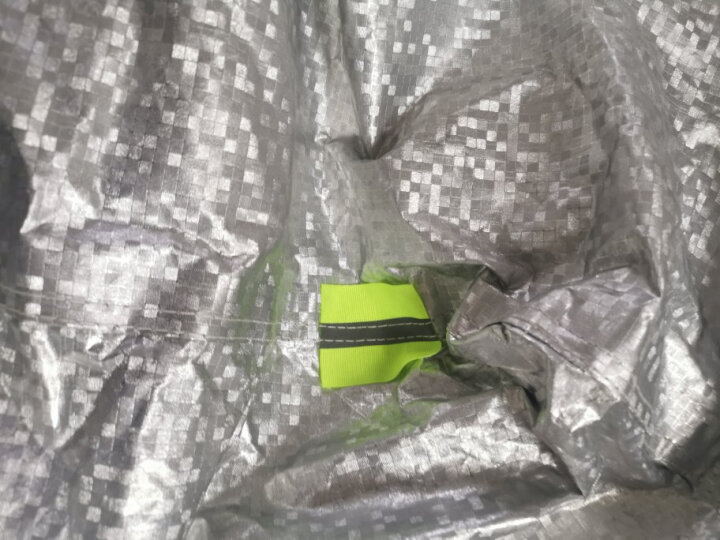 SAHOO L35自行车电动车防雨罩防晒防尘加厚山地车电瓶车铝箔车衣车罩骑行装备配件 晒单图