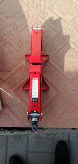 通润(TORIN)汽车用千斤顶 机械顶 汽修工具 手摇剪式车载千斤顶 1T 晒单图