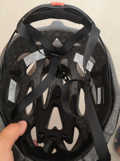 MOON 骑行头盔常规版自行车头盔山地车头盔一体成型 男女款骑行装备 自行车配件 新款常规版紫色树叶碳纤  S(52-55CM) 晒单图