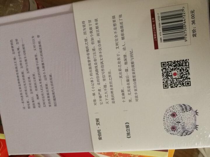 文学名家名著:艾柯三部曲:开放的作品+带着鲑鱼去旅行+误读(套装共3册) 晒单图