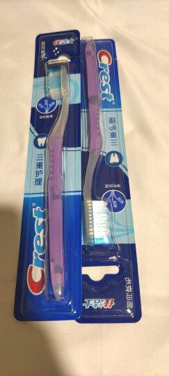 佳洁士牙刷软毛超细柔韧黑茶深洁成人牙刷两支优惠装 超细刷毛 清洁牙菌斑(新老包装,随机发货) 晒单图