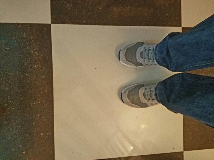 足力健老人鞋健康防滑安全鞋男软底中老年运动鞋老年鞋健步鞋 灰色(男款) 42 晒单图