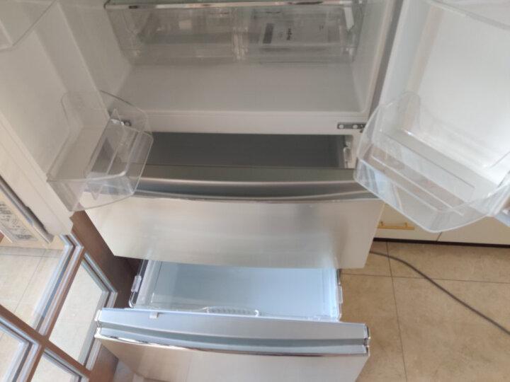 格力(GREE)晶弘465升变频风冷无霜多门纤薄嵌入式冰箱 节能 离子净味 BCD-465WPQC/金拉丝 晒单图