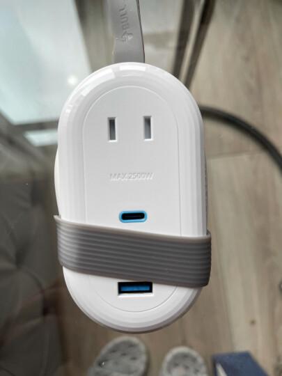公牛(BULL)新国标公牛小白USB插座 插线板/插排/排插/拖线板 GN-B403U  3usb接口+3孔全长1.8米带保护门 晒单图