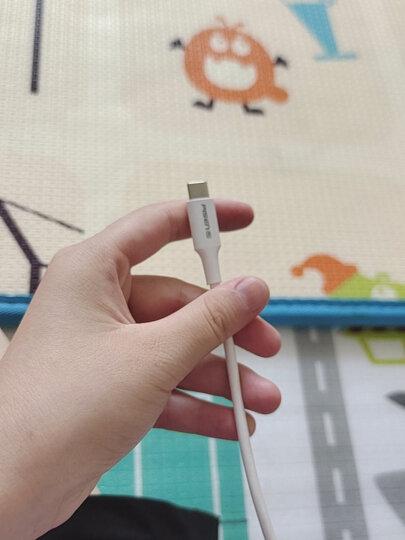 品胜(PISEN)Type-C快充数据线2A USB-C充电线 适用于华为P30 Pro/OPPO Reno10/小米/vivo/荣耀nova 1米白 晒单图