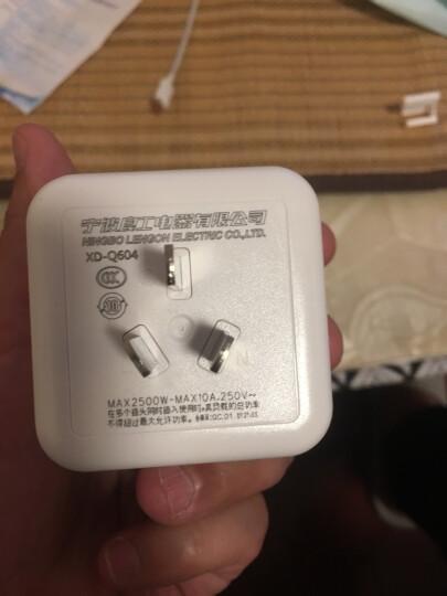 良工(lengon)无线魔方插座插排插线板 一转四电源转换器插座插头新国标多功能立式带开关接线板 晒单图