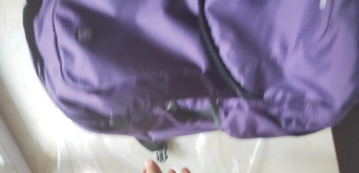 爱华仕(OIWAS)时尚轻薄运动双肩包 简约电脑包男女学生包 4071紫色 晒单图
