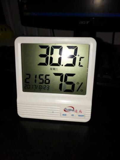 速为 温湿度仪电子温湿度计数显测温度湿度仪器 SW108官方标配 晒单图