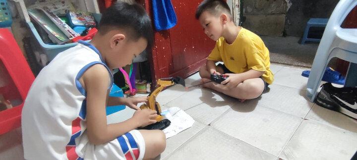 益米 儿童玩具男孩女孩 遥控车遥控电动赛车玩具 车模型 生日礼物(颜色随机发货)礼品 晒单图