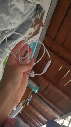 【限时秒杀】【买一条送一条】奥克罗 入耳式线控手机耳机 通用安卓苹果华为oppo小米vivo三星等 银白色 晒单图