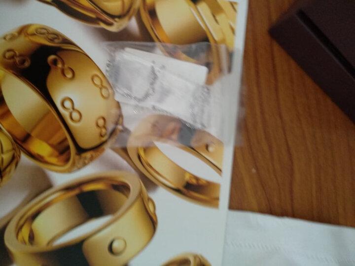 东祥pt950铂金车花镂空白金吊坠女款挂坠星你 定价 送银项链 约0.40g 黄金首饰 送女友 晒单图