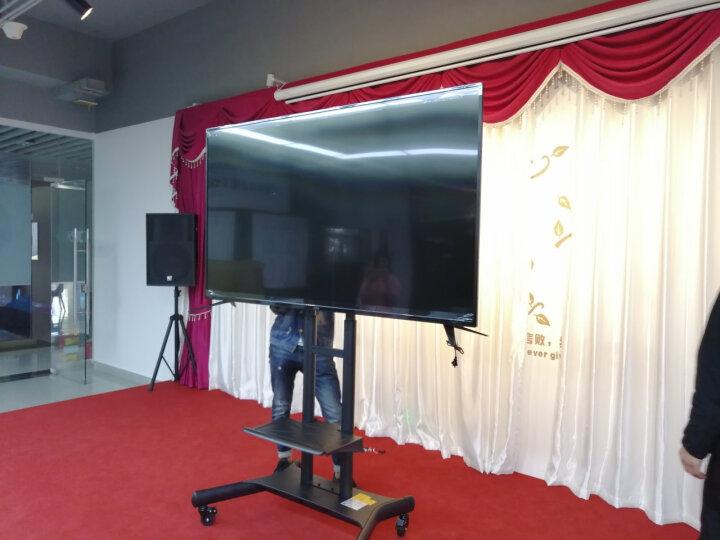 NB (55-80英寸)通用液晶电视移动挂架落地移动视频会议推车电视架教学电子白板支架挂架 晒单图
