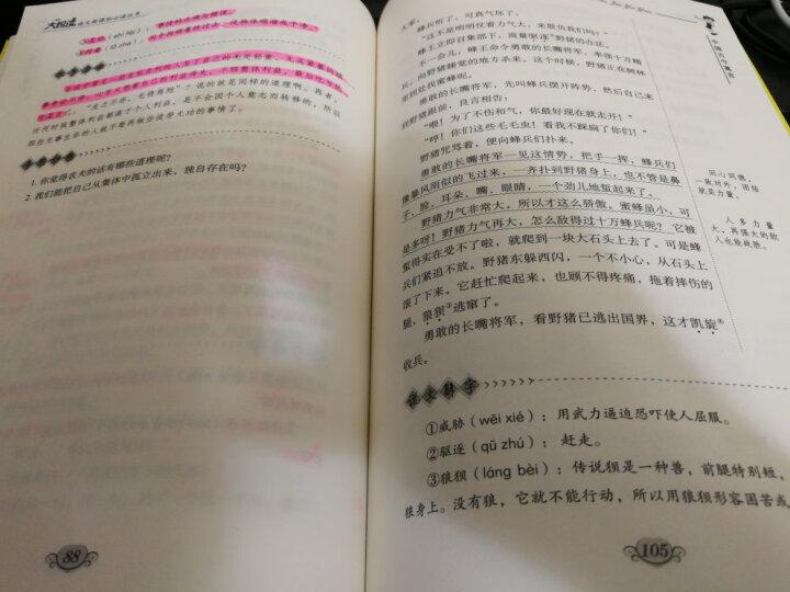 现货3册中国二十四节气(彩绘版)+行走的季节+中国古今寓言 晒单图