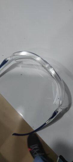3M 护目镜 10434 防雾防液体喷溅 防尘防风防护眼镜 舒适型劳保眼镜 透明  1副 晒单图