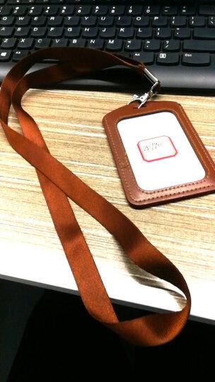 威禹(WY) 1.5cm平纹胸卡吊绳 证件挂绳 厂牌展会绳 卡套挂绳提供定制logo印刷 桃红色 晒单图