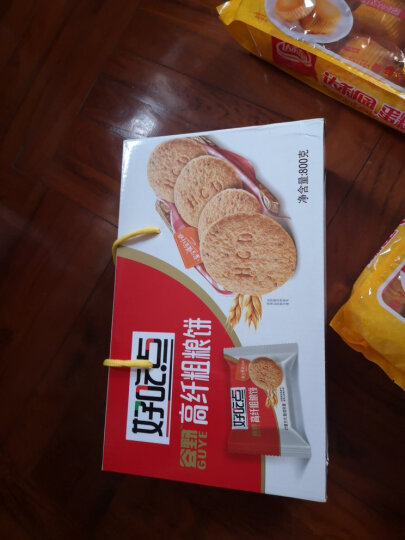 达利园甄好曲奇黄油味 营养早餐零食面包饼干蛋糕 400g 晒单图