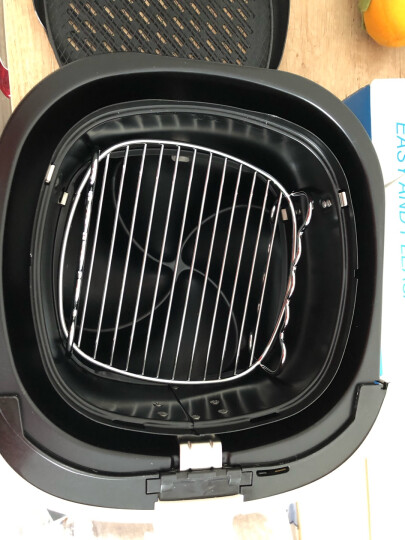 飞利浦(PHILIPS)空气炸锅 第三代家用无油智能大容量电炸锅薯条机HD9621升级版 米色HD9233/40数字化显示-畅销经典款 晒单图
