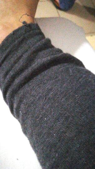 北极绒(Bejirog)保暖内衣男女式情侣加绒加厚圆领秋衣秋裤套装 男款深灰 180 晒单图