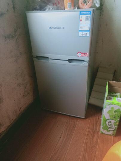 上菱 (SHANGLING)103升双门 迷你 小冰箱 家用小型电冰箱BCD-103C 闪白银 晒单图