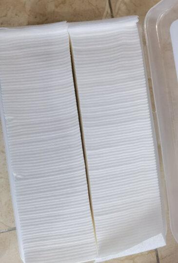 贝览得BLD化妆棉卸妆棉新疆棉双面双效丝滑补水卸妆清油200片量贩式5袋装 晒单图