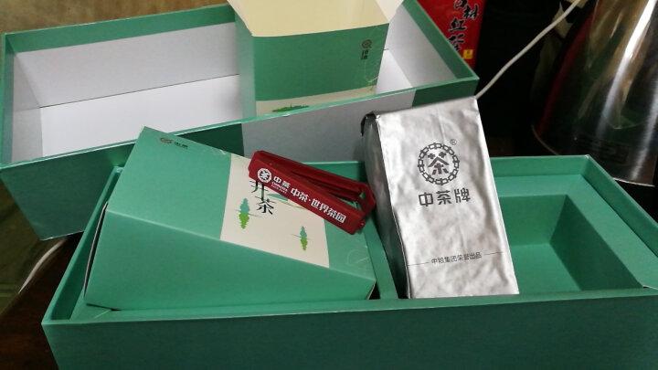 2018年春茶中粮中茶牌 茶叶 绿茶新茶 明前龙井一级礼盒装250g中华老字号 晒单图