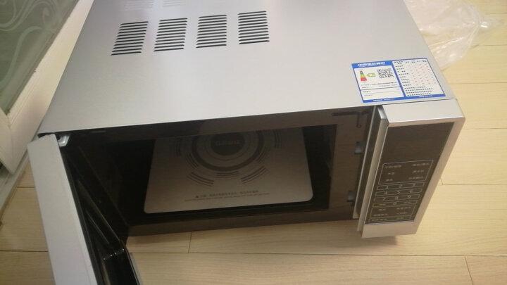 格兰仕家用20升迷你小型平板加热微电脑操控微波炉 预设菜单 按重解冻 智能预约P70F20CN3P-SR(W0) 晒单图