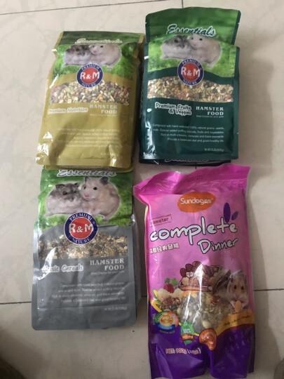 森度(Sundog)仓鼠 龙猫 兔子 豚鼠松鼠 荷兰猪 宠物零食套装(高丽菜干+玉米片+香蕉干) 晒单图