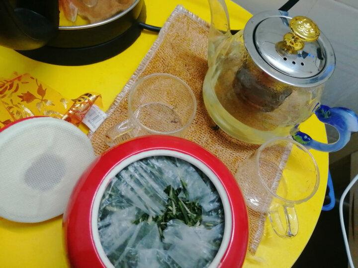 创天下茶叶 毛峰绿茶 2021春季新茶 高山新茶 烘青工艺 陶瓷罐装100克 推荐茶礼送礼礼盒装 晒单图