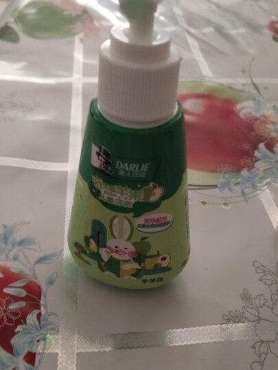 黑人(DARLIE)宝贝兔儿童牙膏40g(草莓味) 2-6-12岁 有效防蛀 温和洁净 含钙配方 晒单图