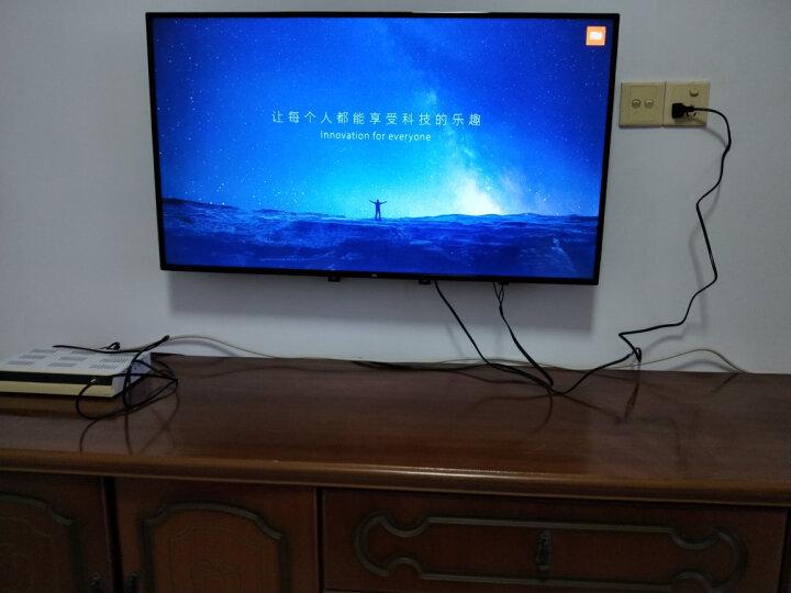 贝石液晶电视机支架通用壁挂架小米红米4A/4C/4X电视挂架乐视TCL夏普海信康佳飞利浦加厚架子 32-65英寸 加强筋板 美观时尚 晒单图