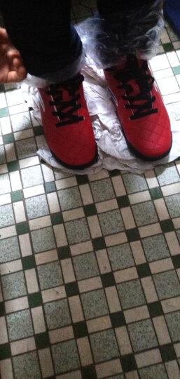 安踏(ANTA)童鞋男中大童足球鞋儿童运动鞋31724202 荧光橘红/黑/安踏白 33 晒单图
