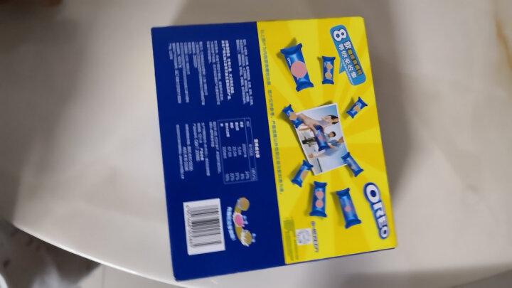 奥利奥Oreo早餐休闲零食蛋糕糕点冰淇淋夹心饼干香草味家庭装388g 晒单图