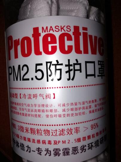 中体倍力(ZHONGTI BY-POWER) 口罩防飞沫防雾霾PM2.5男女防尘口罩 A03 晒单图