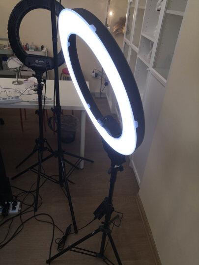 南冠 直播补光灯 led环形灯摄影灯美瞳 美妆主播CN-R640 配单反相机支架 晒单图