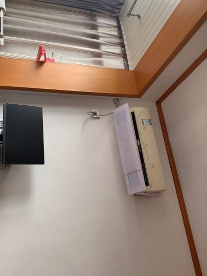 宜百利理线带收纳线自由裁剪扎带 家用电器电脑电源线束/绑/绕/捆线带 魔术贴整理带黑色1米*3只装6020 晒单图