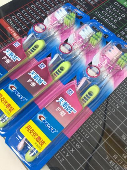 佳洁士牙刷软毛天鹅绒黑茶护龈成人牙刷两支优惠装  按摩牙龈 温和呵护(新老包装,随机发货) 晒单图