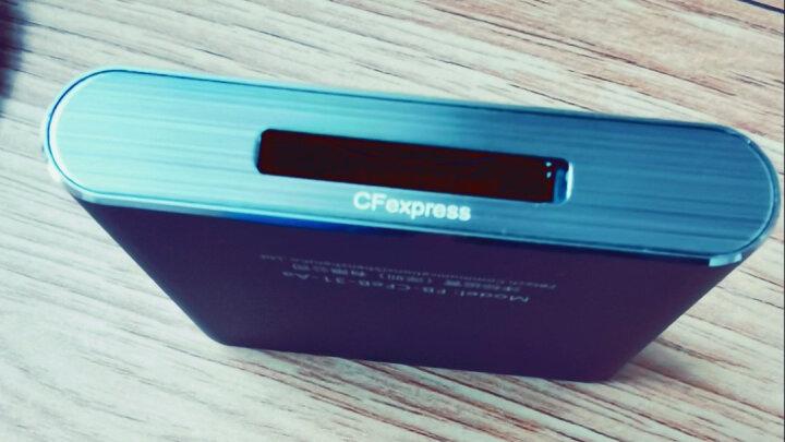 沣标(FB) 360多合一迷你读卡器 高速多功能直读相机SD卡SDHC TF MicroSD 内存卡2合1 颜色随机 晒单图