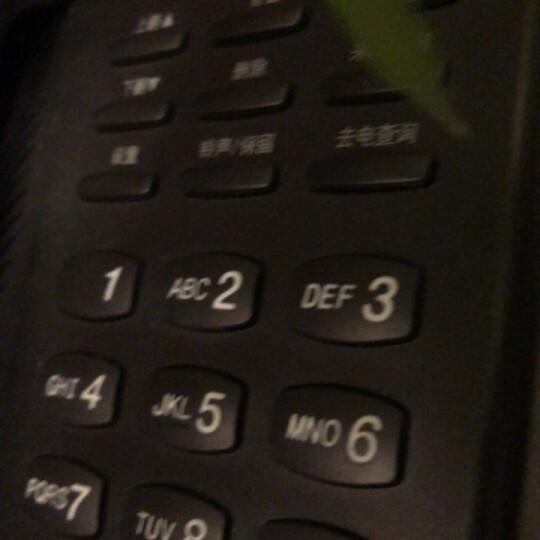 飞利浦(PHILIPS)电话机座机 固定电话 办公家用 免电池设计 来电显示 TD-2808 (红色) 晒单图