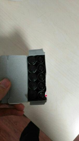得力(deli)白板笔 色泽明亮可擦易擦 红色10支/盒6817 晒单图