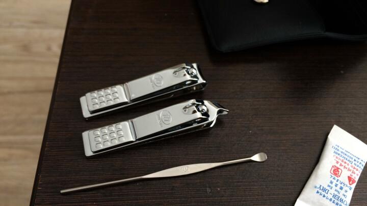 777指甲刀套装 指甲剪钳个人护理修容组合3件套TS-78C枚红色(进口) 晒单图