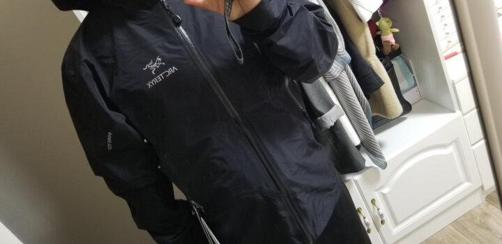 始祖鸟(ARC'TERYX) 男款户外轻量防水连帽冲锋衣Zeta LT 16287 18春夏新款 Adriatic Blue 亚得里亚蓝 M/尺码偏大 晒单图
