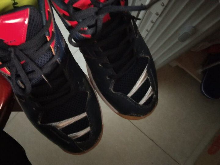 HANTAI汉泰排球鞋气排球专项运动鞋 男女比赛训练用鞋 缓震防滑耐磨VS706 白绿色 41 晒单图