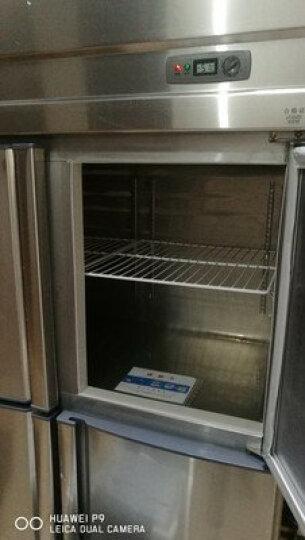 格盾(gedun)四门冰柜商用冰箱保鲜柜冷冻柜冷藏柜 双门不锈钢门全冷藏 晒单图