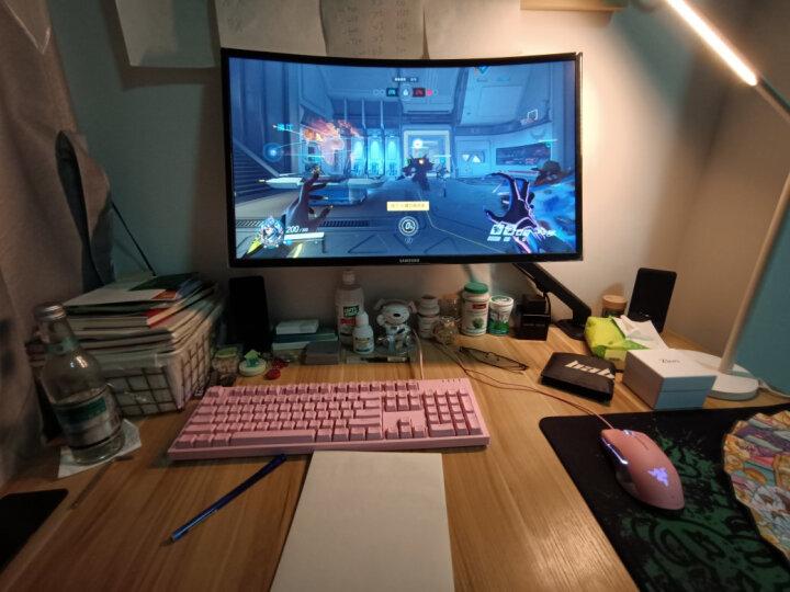 Brateck北弧 显示器支架 电脑显示器支架臂 电脑支架 显示屏幕支架 显示器机械臂增高架 桌面旋转底座LDT14 晒单图