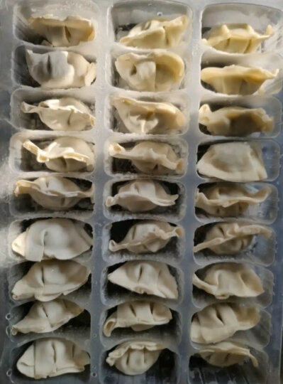 三全 私厨素水饺 松仁玉米口味 600g 54只 早餐 火锅食材 烧烤 饺子 晒单图