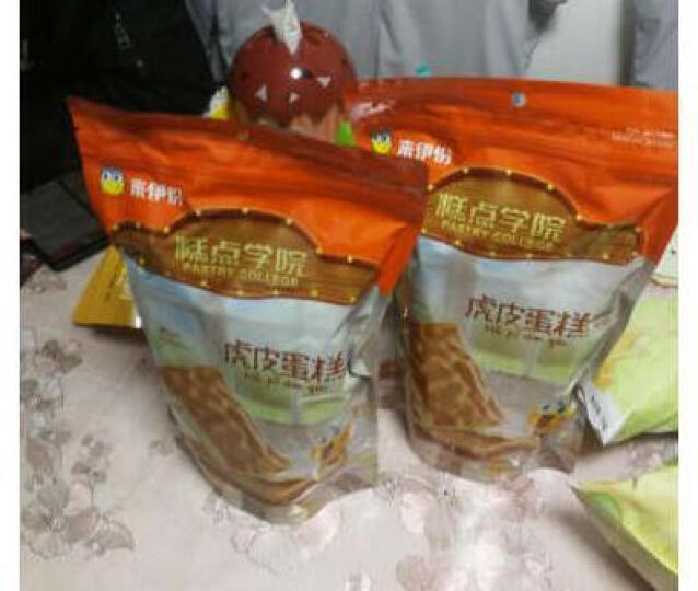 甜猫(Sweet cat)印尼进口绿茶味威化卷心酥 华夫饼干100g盒装 晒单图