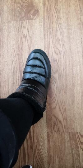 开辛雪地靴女棉鞋冬季新品韩版休闲加厚平底防水防滑短靴女厚底鞋保暖潮 红色 38 晒单图