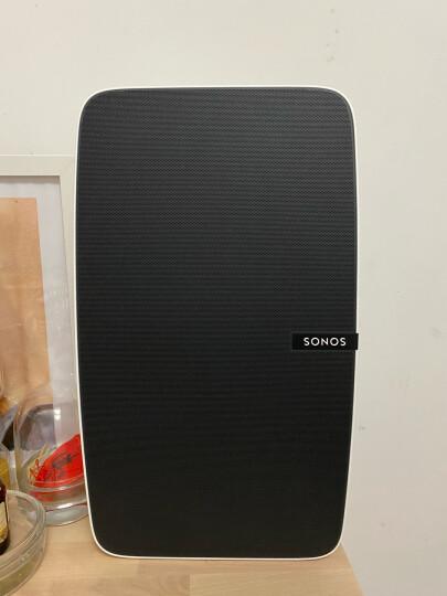 SONOS PLAY:5 智能音响 家庭智能音响系统 WiFi无线 书架音响 多房间 音响家用 非蓝牙S24(白色) 晒单图