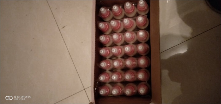 小洋人 智多美发酵型乳酸菌饮品妙恋儿童牛奶酸奶饮料 100ml*28瓶/箱 原味   晒单图